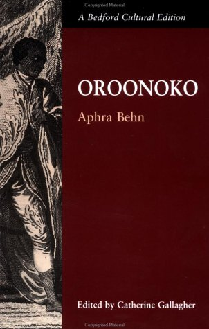 Oroonoko Or, the Royal Slave 5th 2000 (Teachers Edition, Instructors Manual, etc.) edition cover