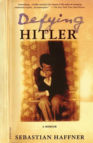 Defying Hitler A Memoir Revised  edition cover