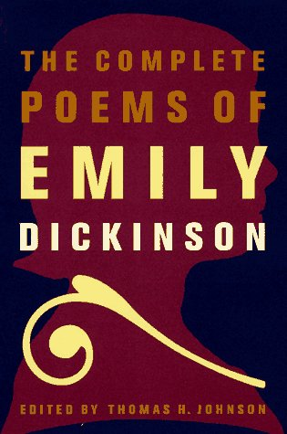 Complete Poems of Emily Dickinson   1998 edition cover