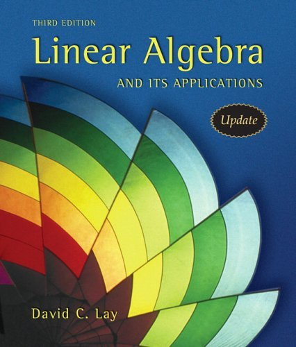 Linear Algebra and Its Applications  3rd 2006 (Revised) edition cover