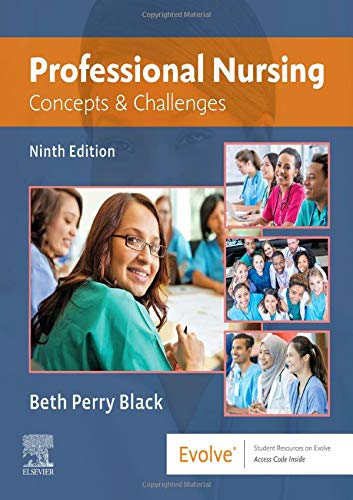Professional Nursing: Concepts & Challenges  2019 9780323551137 Front Cover