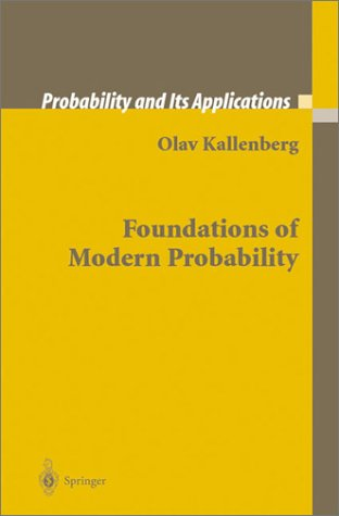 Foundations of Modern Probability  2nd 2002 (Revised) edition cover