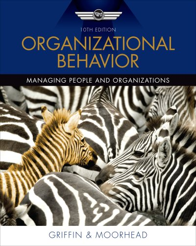 Organizational Behavior  10th 2012 9780538478137 Front Cover