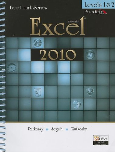 Microsoft Excel 2010 Levels 1 and 2  2011 edition cover