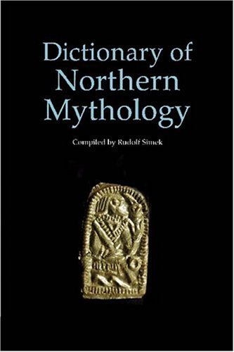 Dictionary of Northern Mythology   1996 edition cover