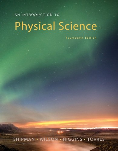 An Introduction to Physical Science:   2015 9781305079137 Front Cover