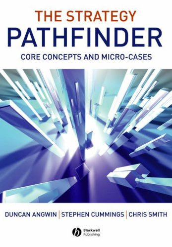 Strategy Pathfinder Core Concepts and Micro-Cases  2006 9781405126137 Front Cover