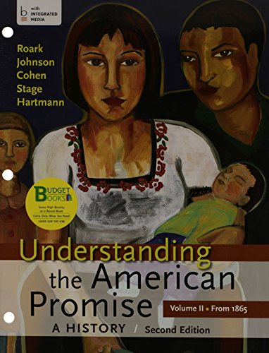 Understanding the American Promise: A History; a Brief History of the United States  2013 9781457664137 Front Cover