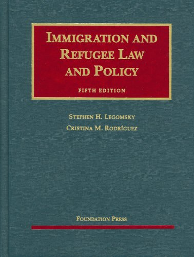 Immigration and Refugee Law and Policy, 5th  5th 2009 (Revised) edition cover