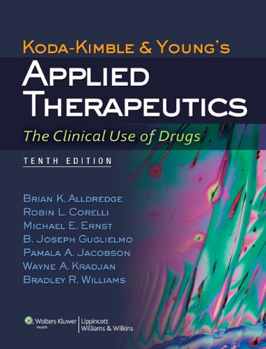 Applied Therapeutics The Clinical Use of Drugs 10th 2013 (Revised) edition cover