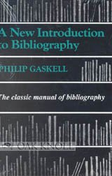 New Introduction to Bibliography  2007 edition cover