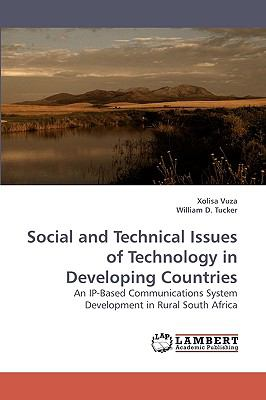 Social and Technical Issues of Technology in Developing Countries  2009 9783838304137 Front Cover