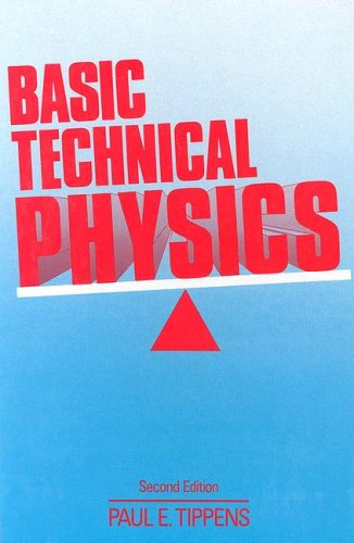 Basic Technical Physics  2nd 1989 edition cover