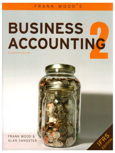 Frank Wood's Business Accounting:  2008 9780273712138 Front Cover