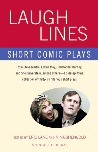 Laugh Lines Short Comic Plays  2007 edition cover