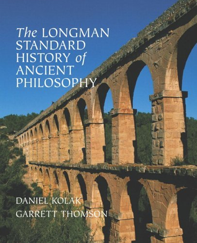Longman Standard History of Ancient Philosophy   2006 edition cover