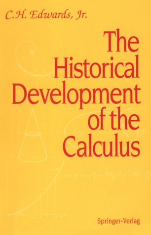 Historical Development of the Calculus  3rd 1979 edition cover