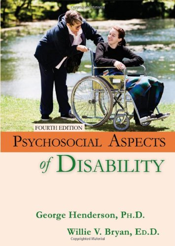 Psychosocial Aspects of Disability  4th 2011 edition cover