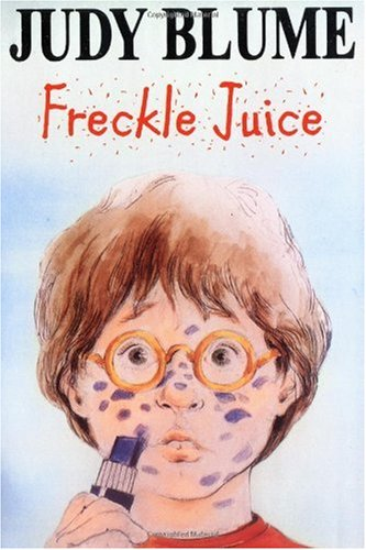 Freckle Juice   1971 edition cover