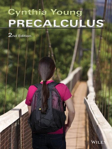 Precalculus  2nd 2014 edition cover