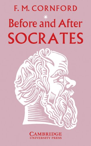 Before and after Socrates   1932 edition cover