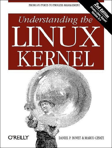 Understanding the Linux Kernal  2nd 2002 edition cover
