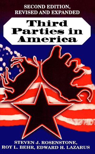 Third Parties in America Citizen Response to Major Party Failure 2nd 1984 (Revised) 9780691026138 Front Cover