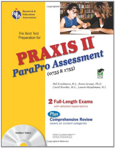 PRAXIS II ParaPro Assessment 0755 and 1755  N/A 9780738604138 Front Cover