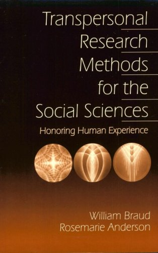 Transpersonal Research Methods for the Social Sciences Honoring Human Experience  1998 edition cover