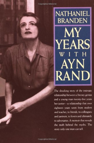 My Years with Ayn Rand   1999 edition cover