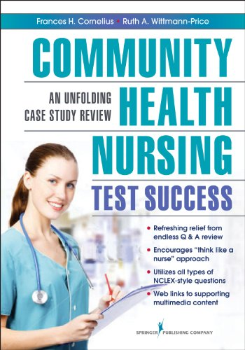 Community Nursing Test Success An Unfolding Case Study Review  2013 edition cover