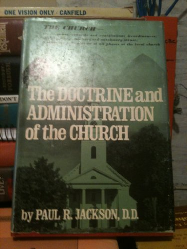 Doctrine and Administration of the Church   1980 (Revised) edition cover