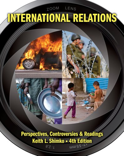 International Relations Perspectives, Controversies and Readings 4th 2013 edition cover