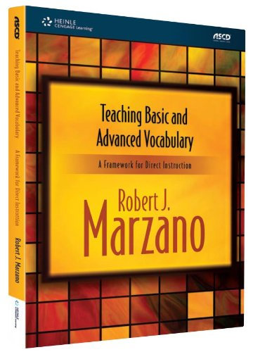 Teaching Basic and Advanced Vocabulary   2010 edition cover