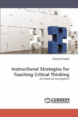 Instructional Strategies for Teaching Critical Thinking N/A 9783838336138 Front Cover