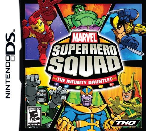 Marvel Super Hero Squad: The Infinity Gauntlet - Nintendo DS Nintendo DS artwork