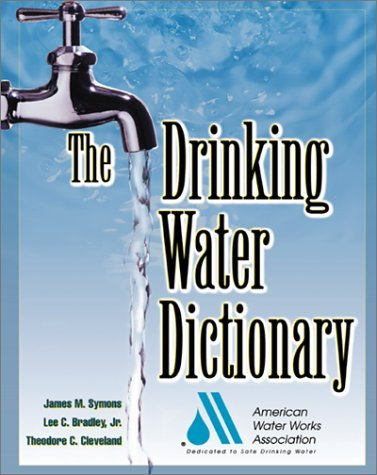 Drinking Water Dictionary   2001 9780071375139 Front Cover
