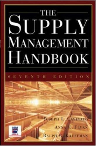 Supply Management Handbook  7th 2006 (Revised) edition cover