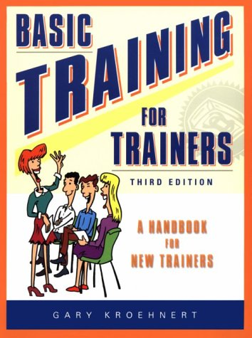 Basic Training for Trainers  3rd 2001 (Revised) edition cover