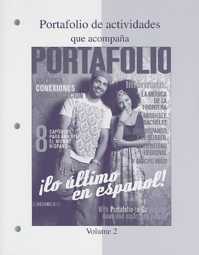 Portafolio Lo �ltimo en Espa�ol!  2009 edition cover