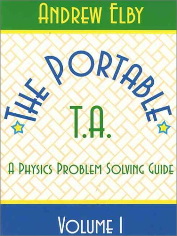 Portable TA A Physics Problem Solving Guide 2nd 1996 (Teachers Edition, Instructors Manual, etc.) edition cover