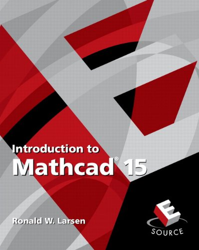 Introduction to Mathcad 15  3rd 2011 edition cover