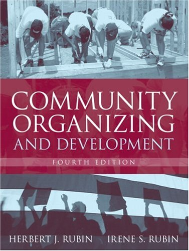 Community Organizing and Development  4th 2008 (Revised) edition cover