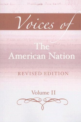 Voices of the American Nation  13th 2008 (Revised) edition cover