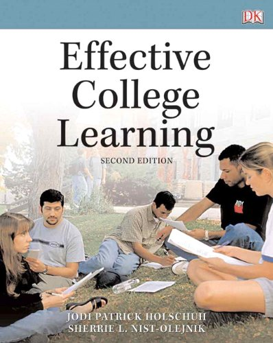 Effective College Learning  2nd 2011 edition cover