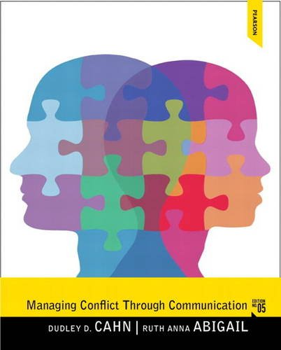 Managing Conflict Through Communication  5th 2014 edition cover