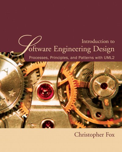 Introduction to Software Engineering Design Processes, Principles, and Patterns with UML2  2007 edition cover