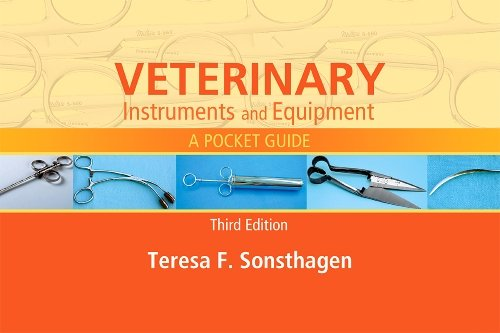 Veterinary Instruments and Equipment A Pocket Guide 3rd 2014 edition cover