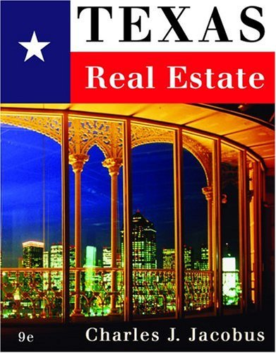 Texas Real Estate  9th 2005 (Revised) edition cover