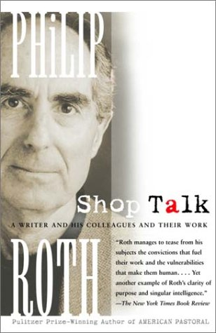 Shop Talk A Writer and His Colleagues and Their Work  2002 edition cover